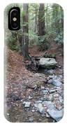 A Peaceful Redwood Creek On Mt Tamalpais IPhone Case
