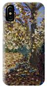 A Portrait Of The Artist's Mother In Autumn IPhone Case