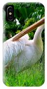 A Preening Stork IPhone Case