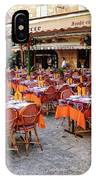 A Restaurant In Sarlat France IPhone Case