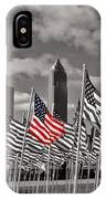 A Sea Of #flags During #marineweek IPhone Case