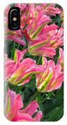 A Sea Of Pink Tulips. Square Format IPhone Case