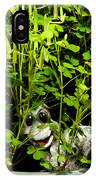 A Smile In A Clover Forest IPhone Case