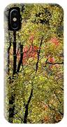 A Splash Of Fall IPhone Case