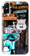 A Stop Along Route 66 IPhone Case