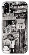 A Stop Along Route 66 II IPhone Case