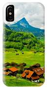 A Town On The Way IPhone Case
