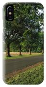 A Tree-lined Rural Virginia Road IPhone Case