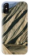 A Truck Is Dwarfed By Eroded Desert IPhone Case