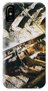 A View Of The Corroded Interior IPhone Case
