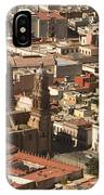 A View Of The Historic Center IPhone Case