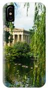 A View Of The Parthenon 15 IPhone Case