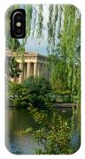 A View Of The Parthenon 8 IPhone Case