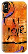 A Whirlwind Called Love IPhone Case