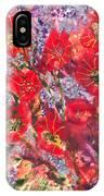 A Winter Healing Garden IPhone Case