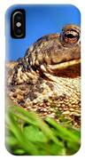 A Worm's Eye View IPhone Case