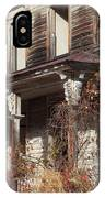 Abandoned Dilapidated Homestead IPhone Case