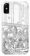Abolition Cartoon, 1859 IPhone Case