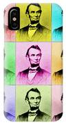 Abraham Lincoln IPhone Case