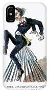Abraham Lincoln: Cartoon IPhone Case