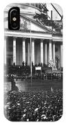 Abraham Lincolns First Inauguration - March 4 1861 IPhone Case