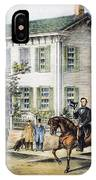 Abraham Lincolns Home IPhone Case
