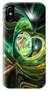 Abstraced Love Remake Fx  IPhone Case