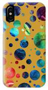 Abstract Art Digital Pixelated Painting Image Of Beauty Of Color By Madart IPhone Case