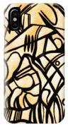 Abstract Art Gold IPhone Case