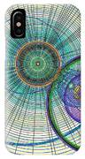 Abstract Circle Art IPhone Case