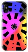 Abstract Color Forms IPhone Case