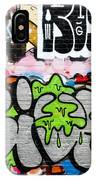 Abstract Colorful Graffiti IPhone Case