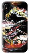Abstract Crawfish IPhone Case