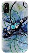 Abstract Dragonfly 10 IPhone Case