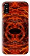Abstract Fire IPhone Case