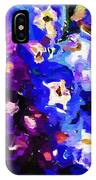 Abstract Floral 031112 IPhone Case