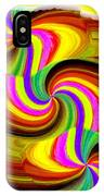 Abstract Fusion 123 IPhone Case