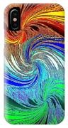 Abstract Fusion 159 IPhone Case