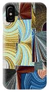 Abstract Fusion 45 IPhone Case