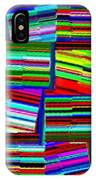 Abstract Fusion 77 IPhone Case