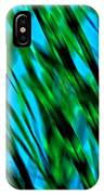 Abstract Green Grass IPhone Case