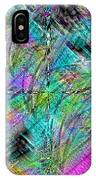 Abstract In Chalk IPhone Case
