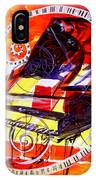 Abstract Jazzy Piano IPhone Case