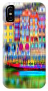 abstract Portuguese city Porto-3 IPhone Case
