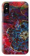 Abstract Red Poppy IPhone Case