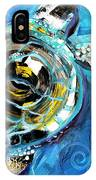 Abstract Sea Turtle In C Minor IPhone Case