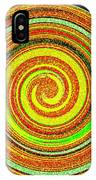 Abstract Spiral IPhone Case