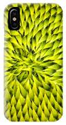 Abstract Sunflower Pattern IPhone Case