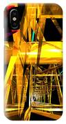 Abstract Tan 12 Imaginary Engine IPhone Case
