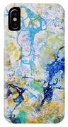 Abstract Under Water IPhone Case
